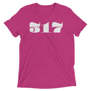 317 Retro Area Code - Hoosier Threads