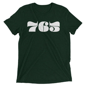 765 Retro Area Code - Hoosier Threads