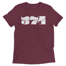 Load image into Gallery viewer, 574 Retro Area Code - Hoosier Threads