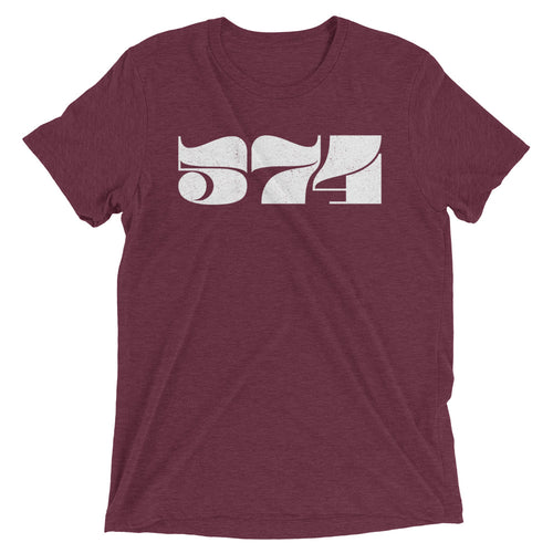574 Retro Area Code - Hoosier Threads