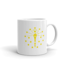 Load image into Gallery viewer, Indiana State Flag Mug - Hoosier Threads