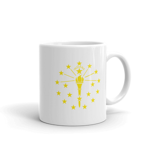 Indiana State Flag Mug - Hoosier Threads