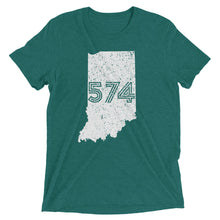 Load image into Gallery viewer, 574 Area Code - Hoosier Threads