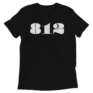 812 Retro Area Code - Hoosier Threads