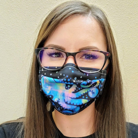 Octospace Face Mask-Adult's and Kid's In Stock