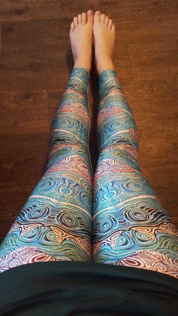 Narwhal Yoga Leggings