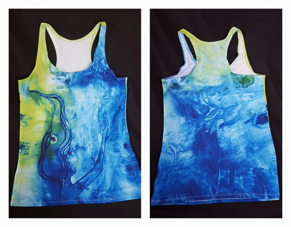 She's Drowning Racerback Tank