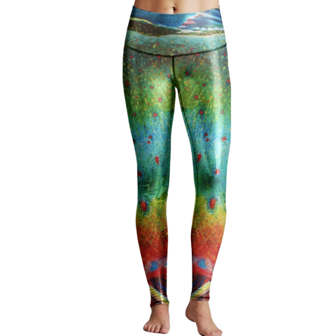 Dolly Varden Metallic Leggings By: Kaitlin Vadla