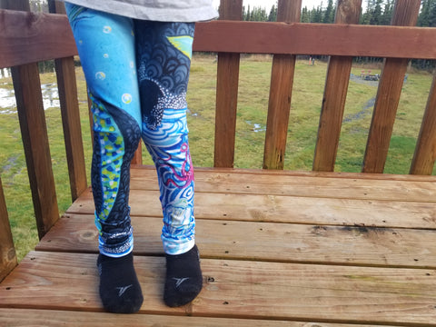 Mermaid Kid's Lounge Leggings