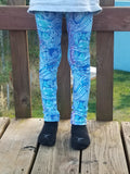 Taking a Stroll Kid's Lounge Leggings