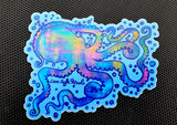 Octospace Large Vinyl Sticker
