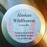 Alaskan Wild Flowers Lotion Bar