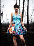 Fox and Floral Dream Dress