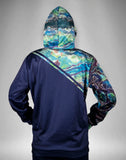 Galaxy Blue Tech Fleece Hoodie