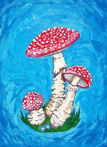 """Amanitas"" Original and Art Prints"