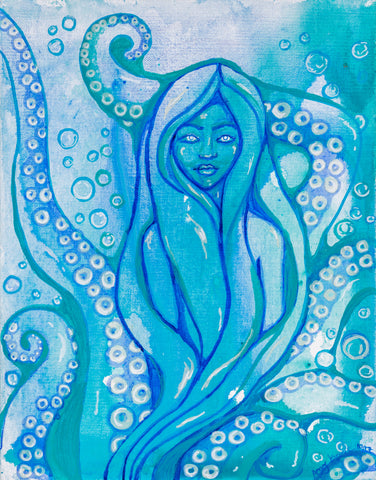 """Cecaelia"" Original and Art Prints"