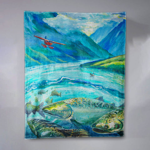 Shared Seas Blanket by Kaitlin Vadla