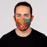 Starry Crown Face Mask- Adult's and Kid's In Stock