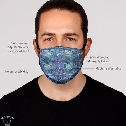 Baby Beluga Face Mask- Adult's and Kid's In Stock