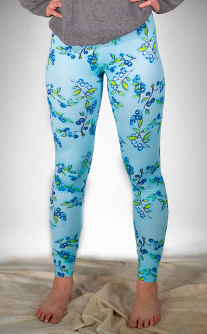 Blue Berries Lounge Leggings