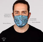 Blue Berry Face Mask-Adult's and Kid's In Stock