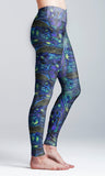 Cosmic Whale Yoga Leggings