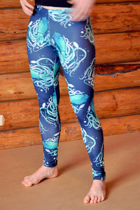 Squid Fashion Leggings