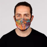 Flower Child Face Mask- Adult's and Kid's In Stock