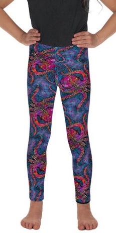 Multicolored Octopus Kids Leggings