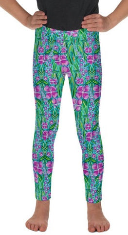Fireweed Fields Kid's Lounge Leggings