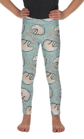 Polar Dreams Kid's Lounge Leggings