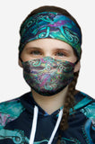 Galactic Octo Face Mask- In Stock