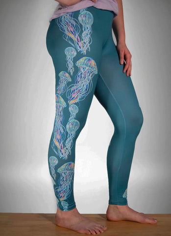 Jellies Green Lounge Leggings