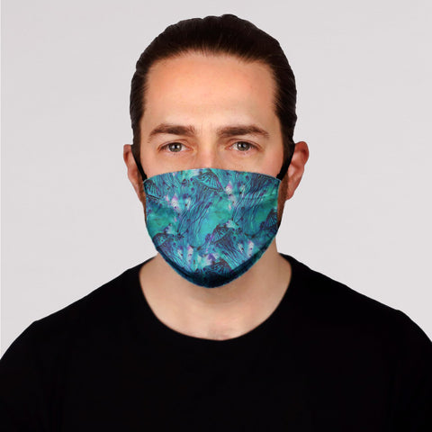New! Green Jellies Face Mask- Adult's and Kid's In Stock