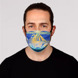 Humpback Sunrise Face Mask- Adult's and Kid's In Stock