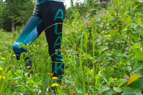 Alaska Leg Yoga Leggings