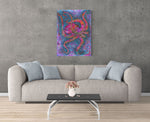 """Multicolored Octopus"" Art Prints"