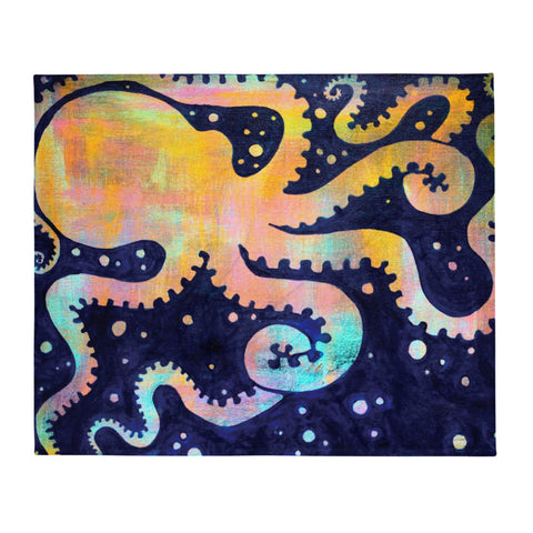 Octospace Plush Blanket