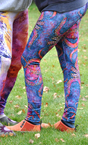 Multicolored Octopus Fashion Leggings