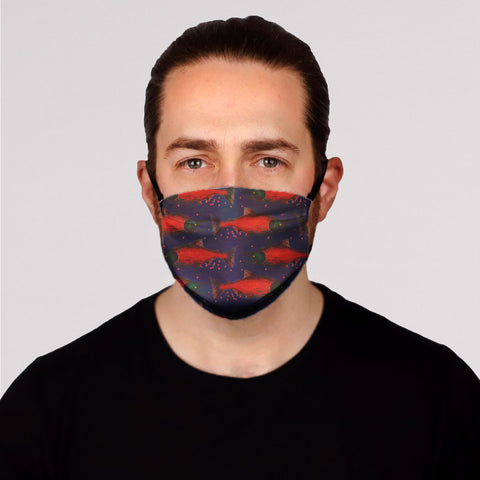 Spawned in Navy Face Mask- Adult's and Kid's In Stock