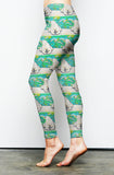 Polar Pin up Fashion Leggings
