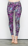 Biolum in Purples Lounge Leggings
