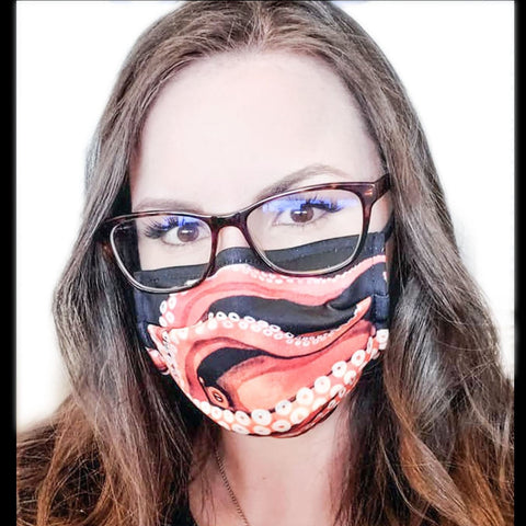 Giant Octopus Face Mask- In Stock