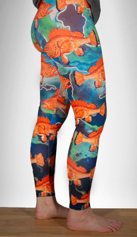 Galactic Rockfish Lounge Leggings