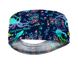 Sea Scramble with Florals Lightweight Headband