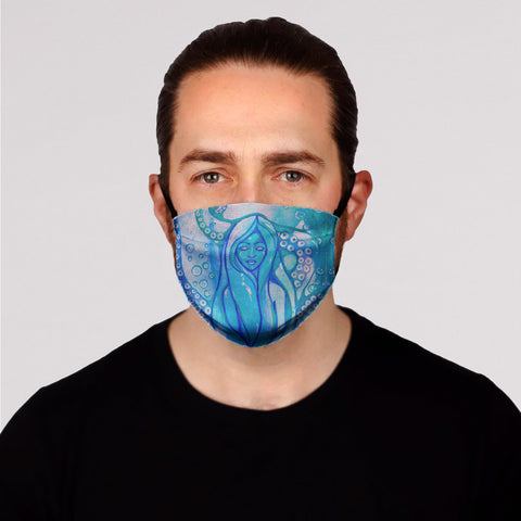 New! Siren Face Mask- Kid's and Adult's In Stock