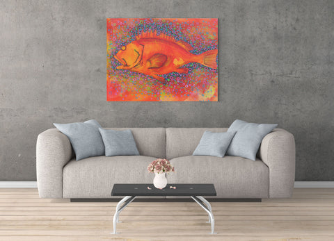 """Yellow Eye"" Art Prints"