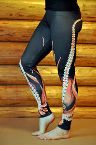 Giant Octopus Fashion Leggings