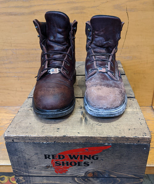 Red Wing Shoes Work Boot Care and Cleaning at Dave's New York