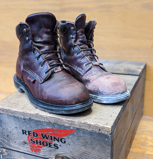 Red Wing Shoes Work Boots Care and Cleaning at Dave's New York